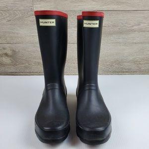 Hunter Argyll Short Knee Waterproof Boots Size 10